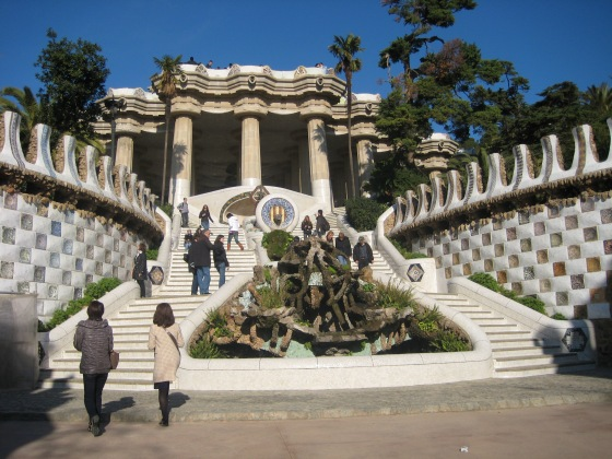 Architecture of Antionio Gaudi - Park Guell
